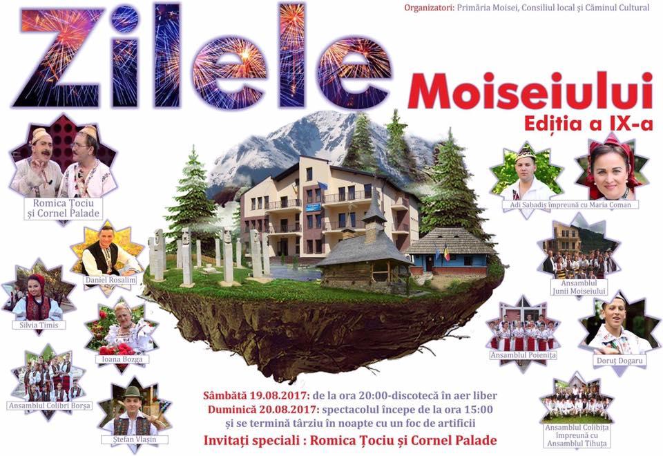 Zilele Moiseiului, Editia a IX-a, 19-20 august 2017