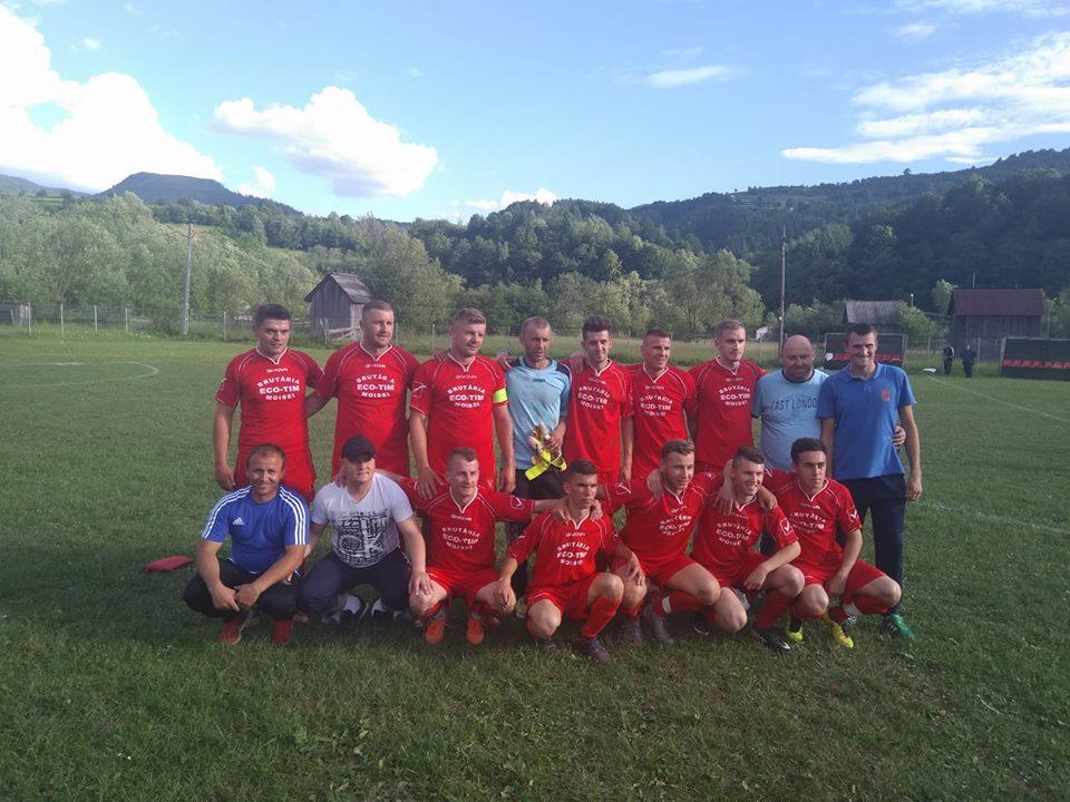 Echipa Zorile Moisei s-a calificat în finala cupei României pe Maramureș!